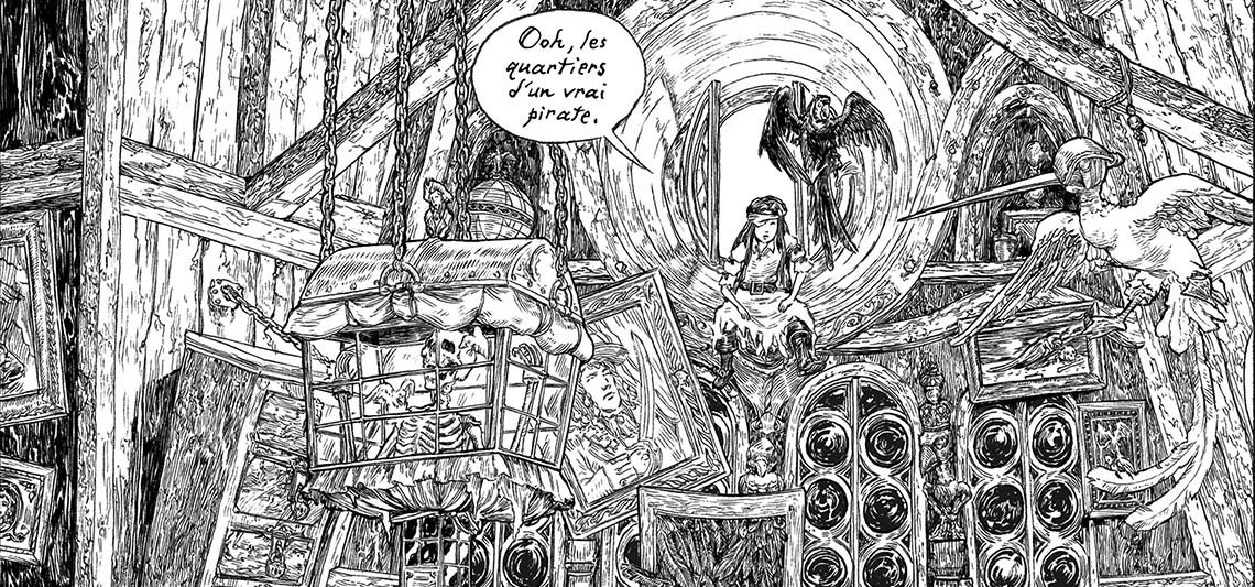 extrait fille maudite de capitaine pirate