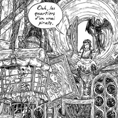 extrait fille maudite de capitaine pirate