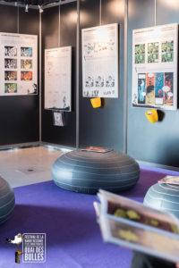 Galerie photo expo Le labo de la BD